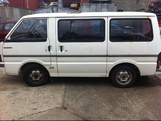 1989 FORD ECONOVAN XL 5 SP MANUAL 1.8L CARB COMPLETE VEHICLE
