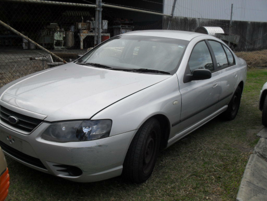 2007 FORD FALCON BF MKII XT 4 SP AUTO SEQ SPORTS 4.0L MULTI POINT F/INJ STUB AXLE LF