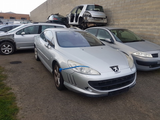 2006 PEUGEOT 407 HDi 6 SP AUTOMATIC TIPTRONIC 2.7L DIESEL TURBO F/INJ COMPLETE VEHICLE