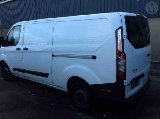 2015 FORD TRANSIT CUSTOM VN 290S (SWB) 6 SP MANUAL 2.2L DIESEL TURBO F/INJ ROOF RACKS
