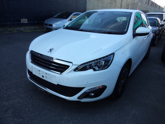 2015 PEUGEOT 308 T9 ALLURE BLUE HDI 6 SP AUTOMATIC 2.0L DIESEL TURBO F/INJ BAR FRONT COMPLETE