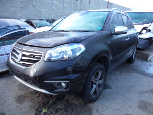 2013 RENAULT KOLEOS BOSE SE (4X4) 6 SP AUTOMATIC 2.0L MULTI POINT F/INJ COMPLETE VEHICLE