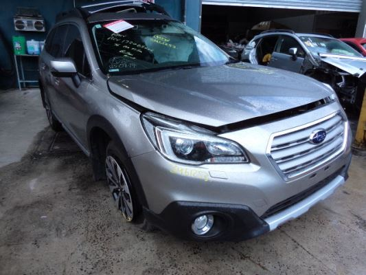 2015 SUBARU OUTBACK MY15 3.6R CONTINUOUS VARIABLE 3.6L MULTI POINT F/INJ AIRBAG RF