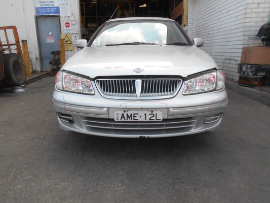 2000 NISSAN PULSAR N16 4 SP AUTOMATIC 1.6L MULTI POINT F/INJ COMPLETE VEHICLE