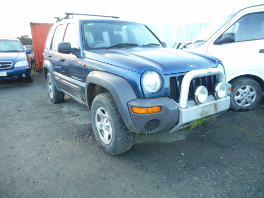 2003 JEEP CHEROKEE KJ 4 SP AUTOMATIC 3.7L MULTI POINT F/INJ BONNET