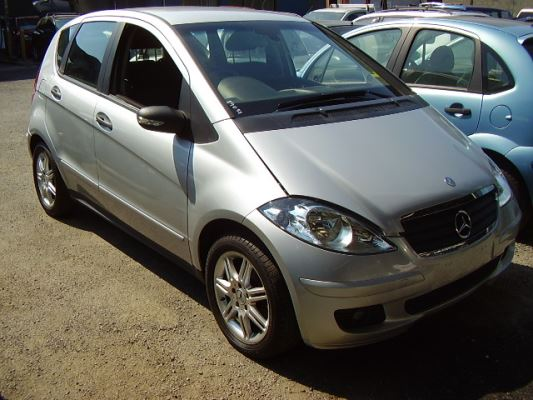 2006 MERCEDES-BENZ A170 W169 CLASSIC CVT AUTO 7 SP SEQUENTIAL 1.7L MULTI POINT F/INJ GRILLE