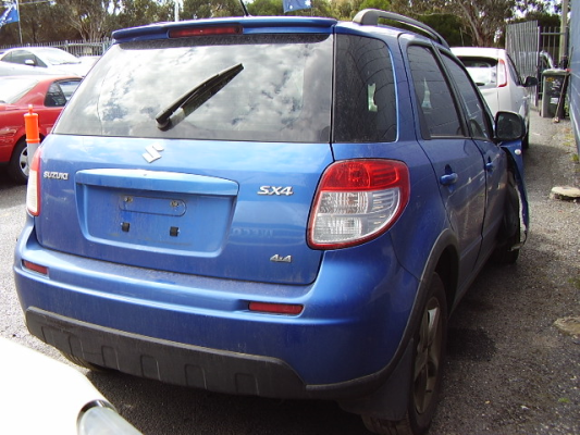2007 SUZUKI SX4 GY 5 SP MANUAL 2.0L MULTI POINT F/INJ DOOR RR