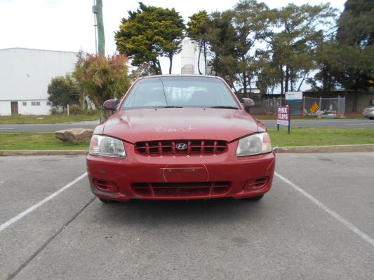 2001 HYUNDAI ACCENT LC 5 SP MANUAL 1.5L MULTI POINT F/INJ AIRBAG SIDE RIGHT