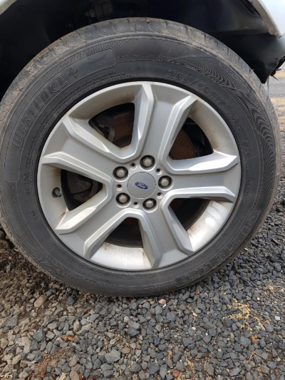 2013 FORD TERRITORY SZ 6 SP AUTOMATIC 4.0L MULTI POINT F/INJ WHEEL (ALLOY/MAG) SET