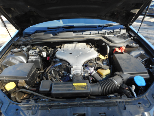 2006 HOLDEN COMMODORE VE OMEGA 4 SP AUTOMATIC 3.6L MULTI POINT F/INJ ENGINE LONG