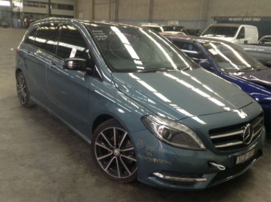 2012 MERCEDES-BENZ B200 246 CDI B.E. 7 SP AUTO DIRECT SHIFT 1.8L DIESEL TURBO F/INJ DOOR LF