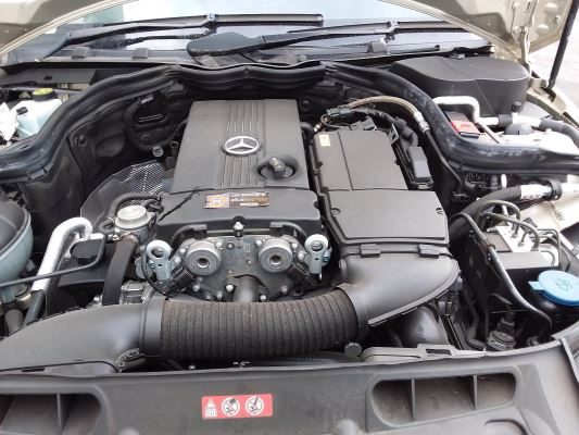 2009 MERCEDES-BENZ C200 W204 5 SP AUTOMATIC TIPSHIFT 1.8L SUPERCHARGED MPFI ENGINE LONG