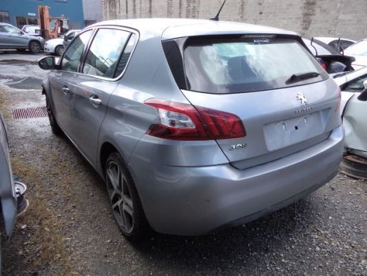 2015 PEUGEOT 308 T9 ALLURE 6 SP AUTOMATIC 1.2L TURBO MPFI BAR REAR COMPLETE