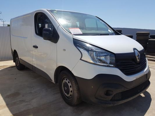 2015 RENAULT TRAFIC X82 6 SP MANUAL HEATER CORE