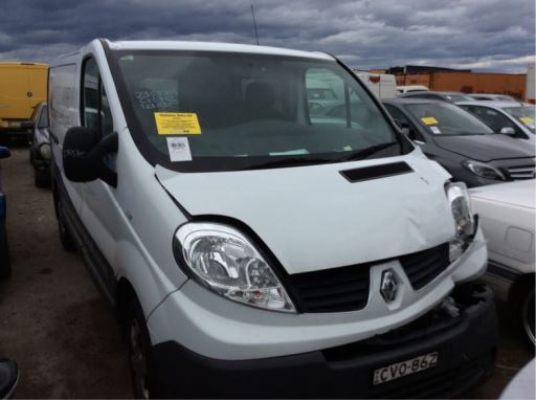 2014 RENAULT TRAFIC L1H1 MY11 2.0 dCi SWB 6 SP MANUAL 2.0L DIESEL TURBO F/INJ ENGINE COVER