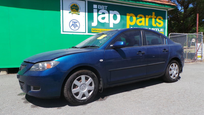 2007 MAZDA MAZDA3 BK MY06 UPGRADE NEO 4 SP AUTO ACTIVEMATIC 2.0L MULTI POINT F/INJ ENGINE LONG