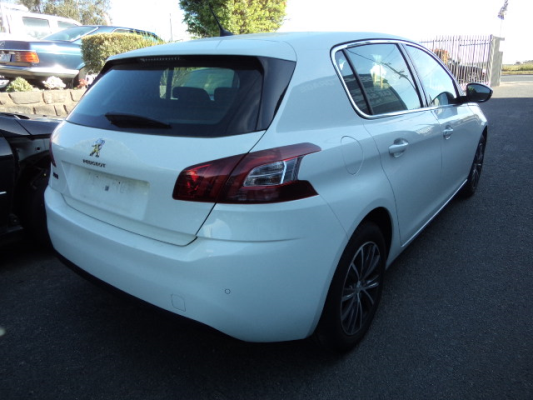 2015 PEUGEOT 308 T9 ALLURE BLUE HDI 6 SP AUTOMATIC 2.0L DIESEL TURBO F/INJ BAR REAR COMPLETE