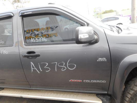 2010 HOLDEN COLORADO LX (4x4) 5 SP MANUAL 3.0L DIESEL TURBO F/INJ DOOR RF
