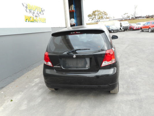 2007 HOLDEN BARINA 5 SP MANUAL 1.6L MULTI POINT F/INJ TAILGATE