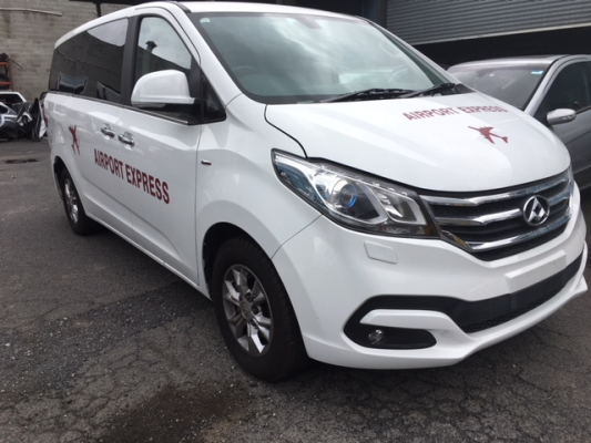 2016 LDV G10 SV7A (9 SEAT) 6 SP AUTOMATIC 2.0L TURBO MPFI COMPLETE VEHICLE