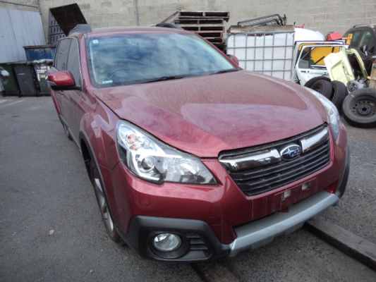 2013 SUBARU OUTBACK MY14 2.5i PREMIUM CONTINUOUS VARIABLE 2.5L MULTI POINT F/INJ DOOR LF