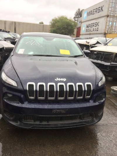 2014 JEEP CHEROKEE KL 9 SP AUTOMATIC 2.4L MULTI POINT F/INJ