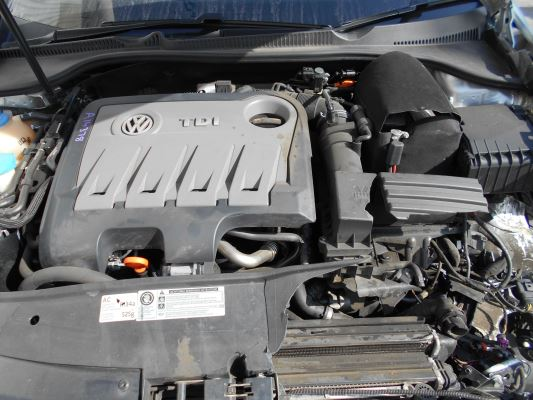 2011 VOLKSWAGEN GOLF 6 SP AUTO DIRECT SHI 2.0L DIESEL TURBO F/INJ ENGINE LONG