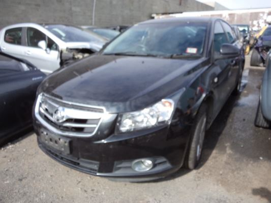 2010 HOLDEN CRUZE JG CDX 5 SP MANUAL 1.8L MULTI POINT F/INJ DOOR LR