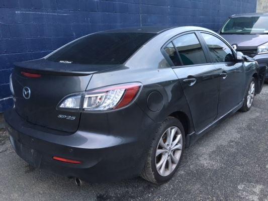 2011 Mazda Mazda3 Bl 11 Upgrade Sp25 6 Sp Manual 2 5l Multi Point F