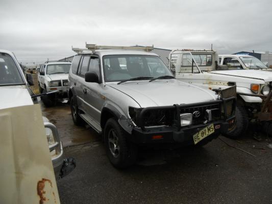 1998 Toyota Landcruiser Vzj95r Prado Rv6  4x4  5 Sp Manual 4x4 3 4l Electronic F  Inj Guard Lf