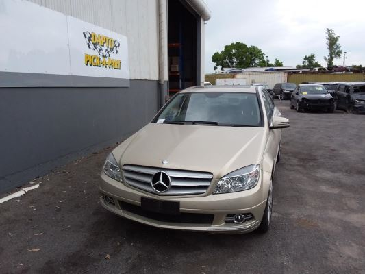 2009 MERCEDES-BENZ C200 W204 5 SP AUTOMATIC TIPSHIFT 1.8L SUPERCHARGED MPFI BAR FRONT COMPLETE