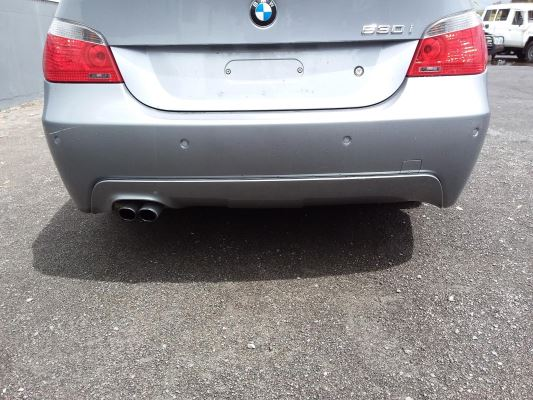 2006 BMW 5 E60 MY06 UPGRADE 30i 6 SP AUTOMATIC STEPT 3.0L MULTI POINT F/INJ BAR REAR COMPLETE